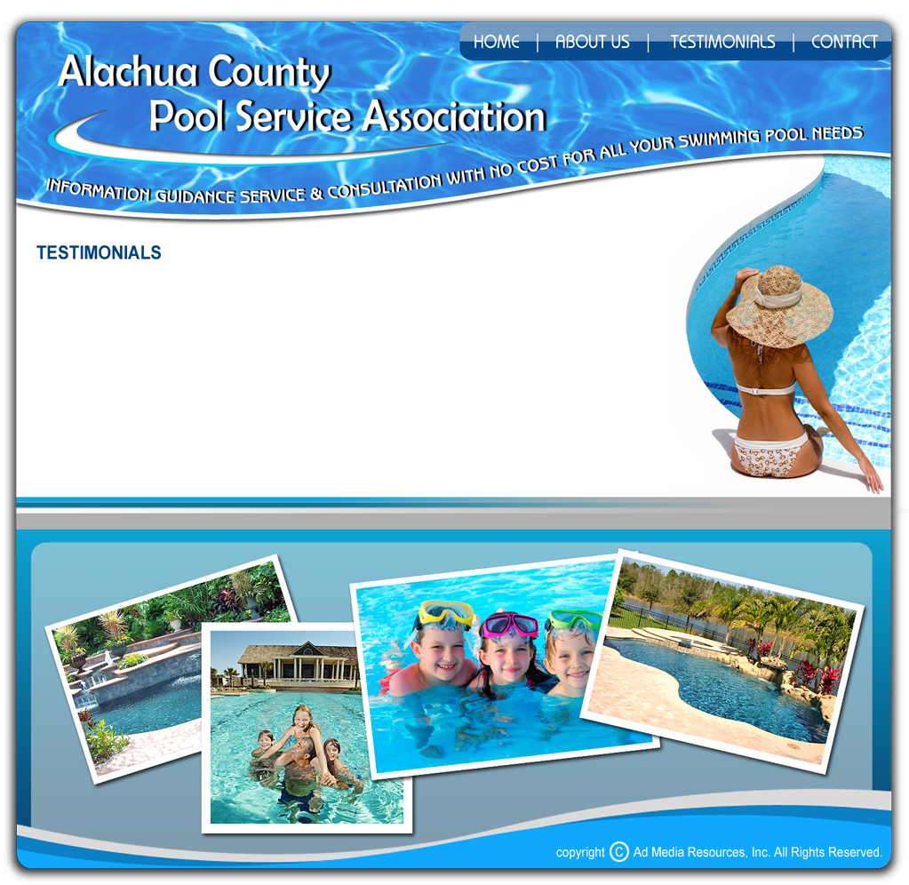 Alachua County Pool Service Association Gainesville Pool